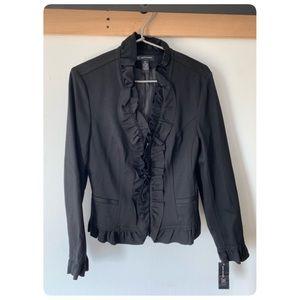 INC Peplum blazer zipper jacket